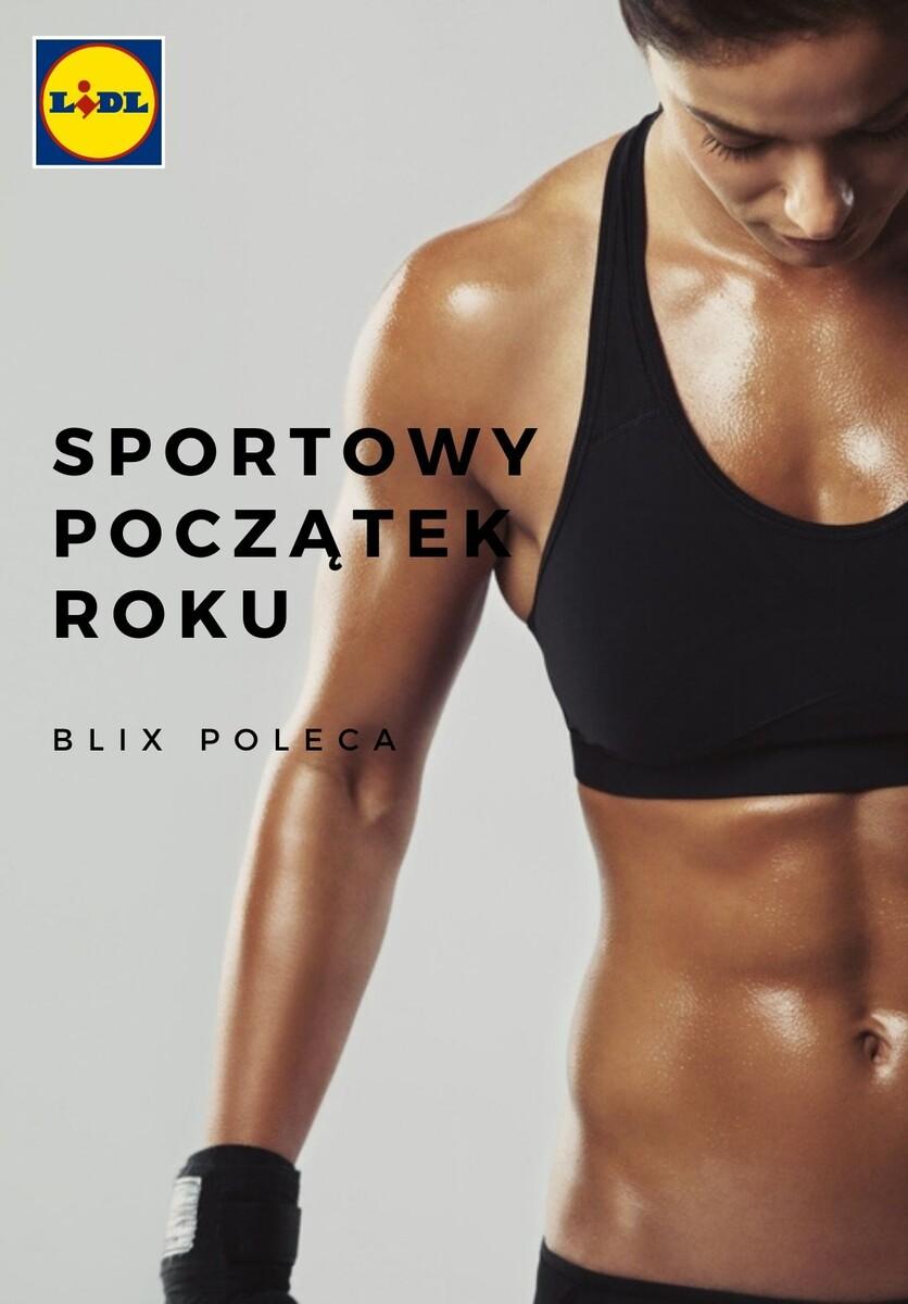 Gazetka Lidl - _Sportowy początek roku