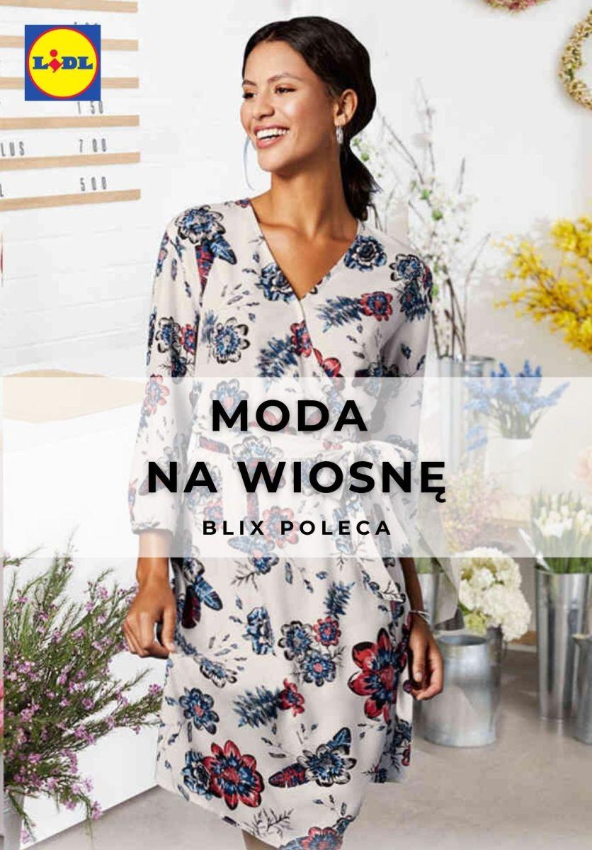 Gazetka Lidl - Moda na wiosnę dla niej