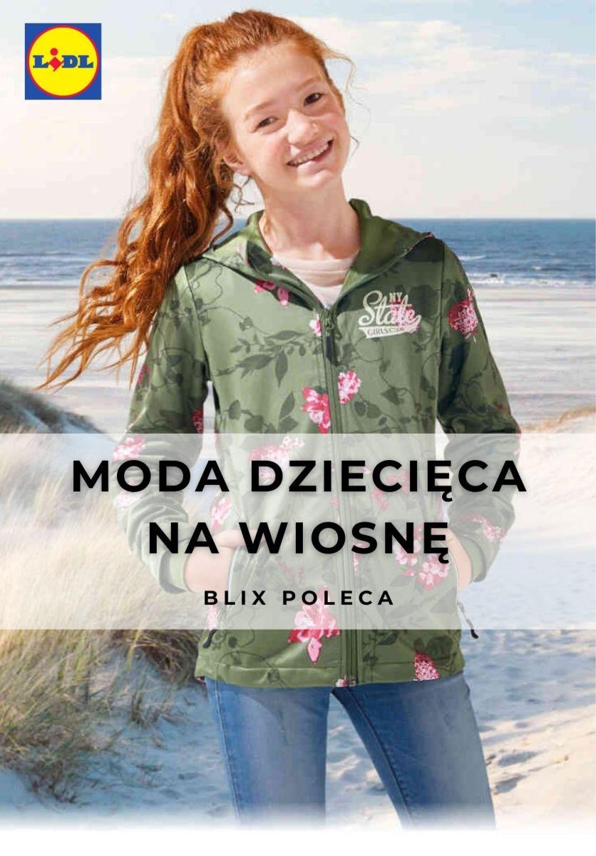 Gazetka Lidl - Moda dziecięca na wiosnę