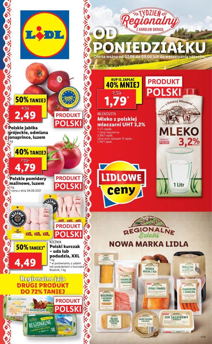 Gazetka Lidl - Gazetka: od poniedziałku