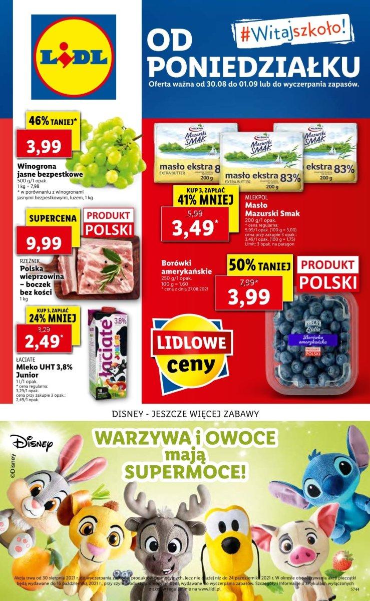 Gazetka Lidl - Od poniedziałku
