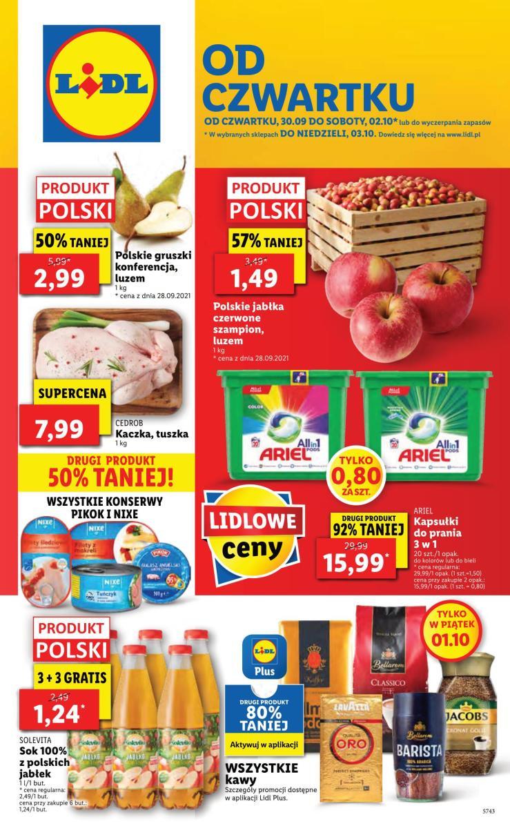 Gazetka Lidl - Od czwartku
