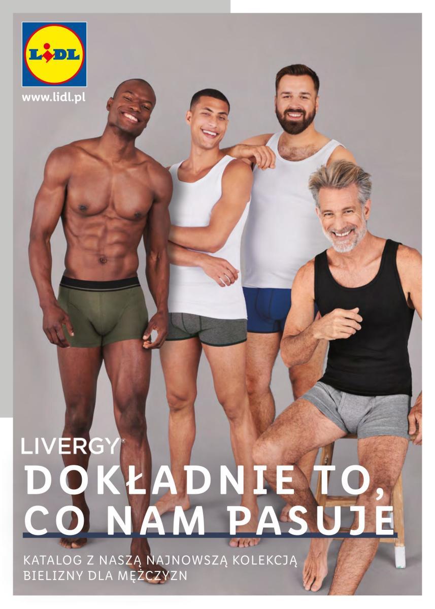 Gazetka Lidl - Katalog bielizny męskiej