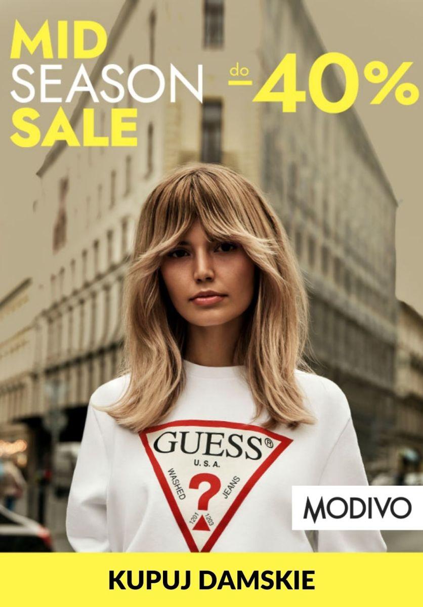Gazetka Modivo - Do -40% Mid Season Sale