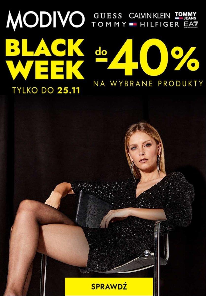 Gazetka Modivo - Do -40% na wybrane produkty z KODEM