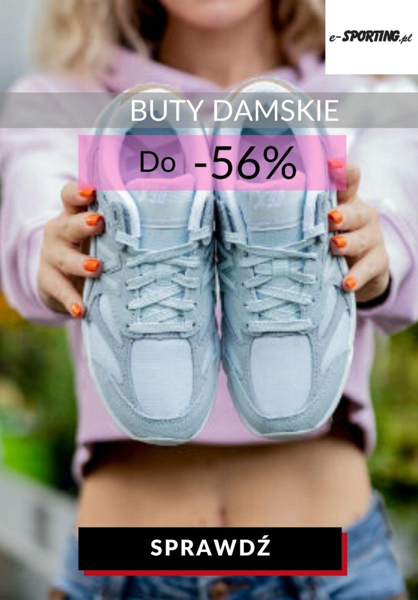 Gazetka E-sporting.pl - Do -56% na buty sportowe damskie