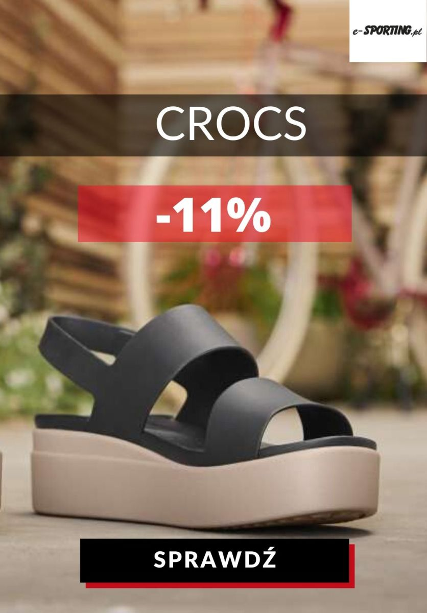 Gazetka E-sporting.pl - -11% na wybrane sandały Crocs