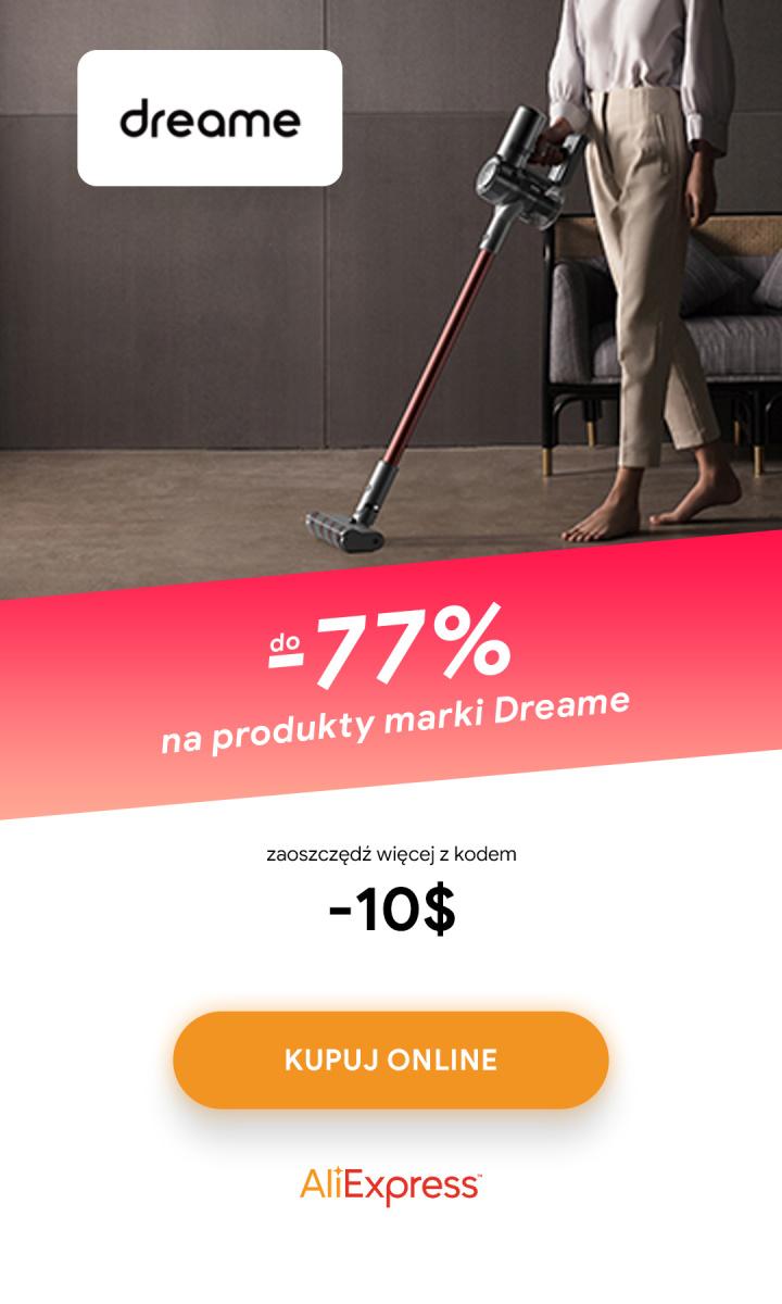 Gazetka Dreame - Do -77% na produkty marki Dreame
