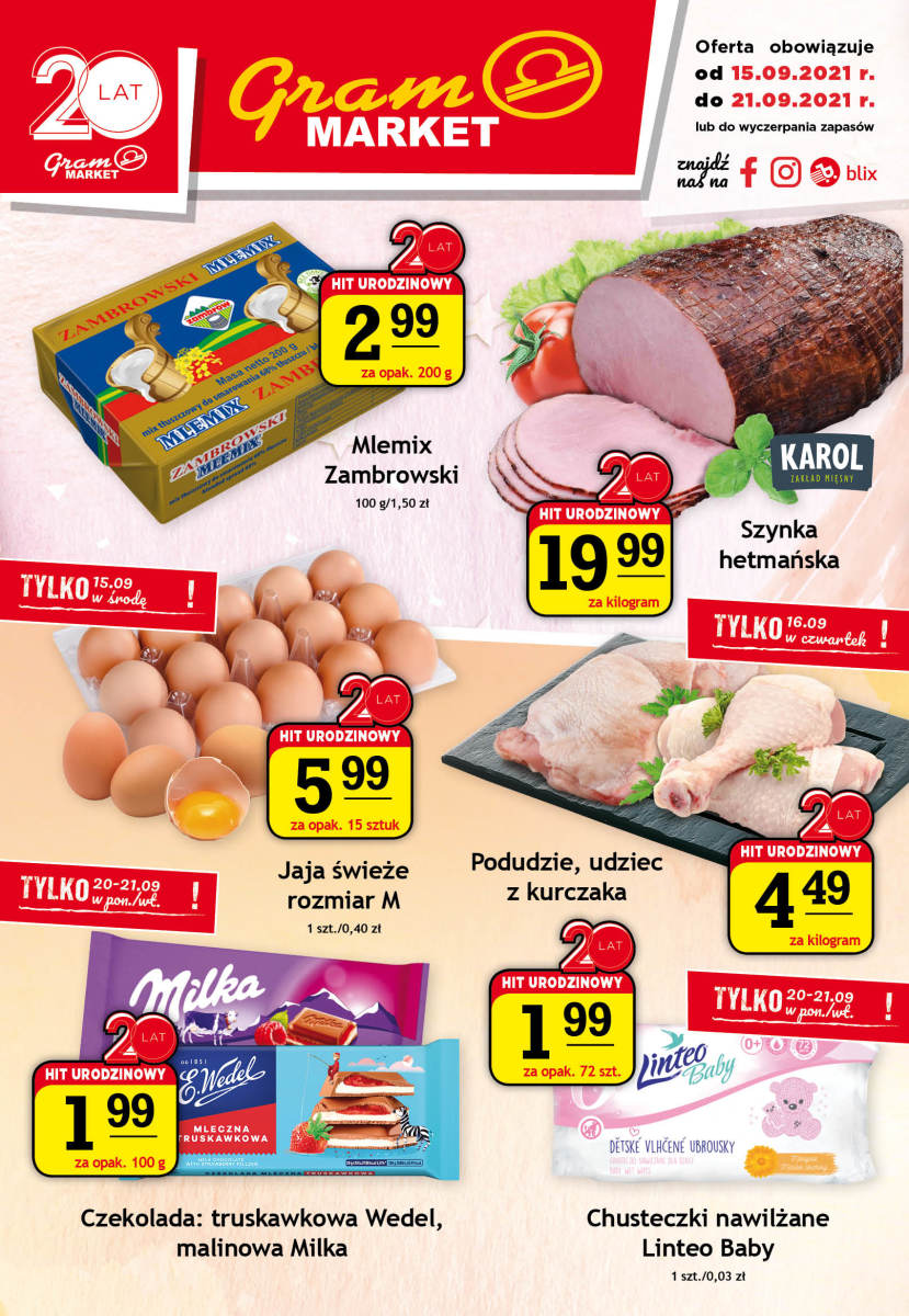 Gazetka Gram Market - Gazetka
