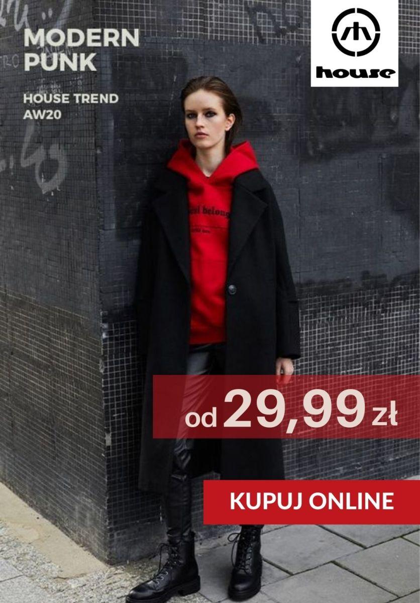 Gazetka House - Od 29,99 zł kolekcja Modern Punk