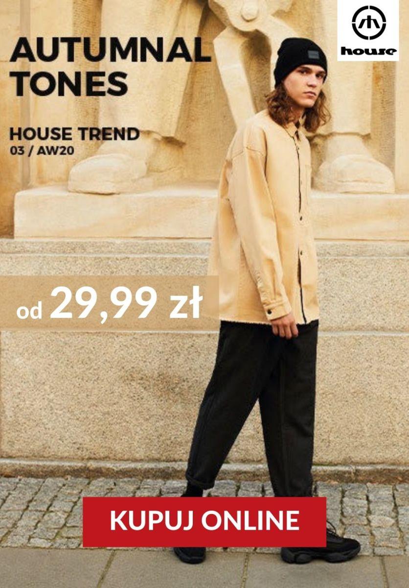 Gazetka House - Od 39,99 zł kolekcja Autumnal tones