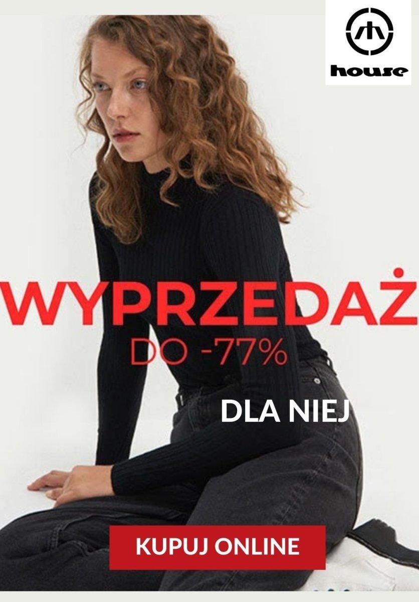 Gazetka House - Do -77% Sale dla niej