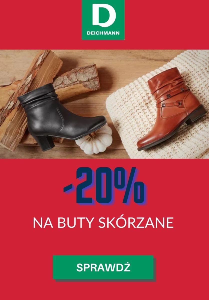 Gazetka Deichmann - -20% na buty skórzane