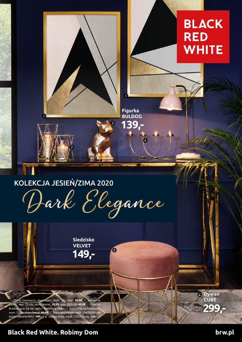Gazetka Black Red White - Dark Elegance - Kolekcja jesień/zima 2020
