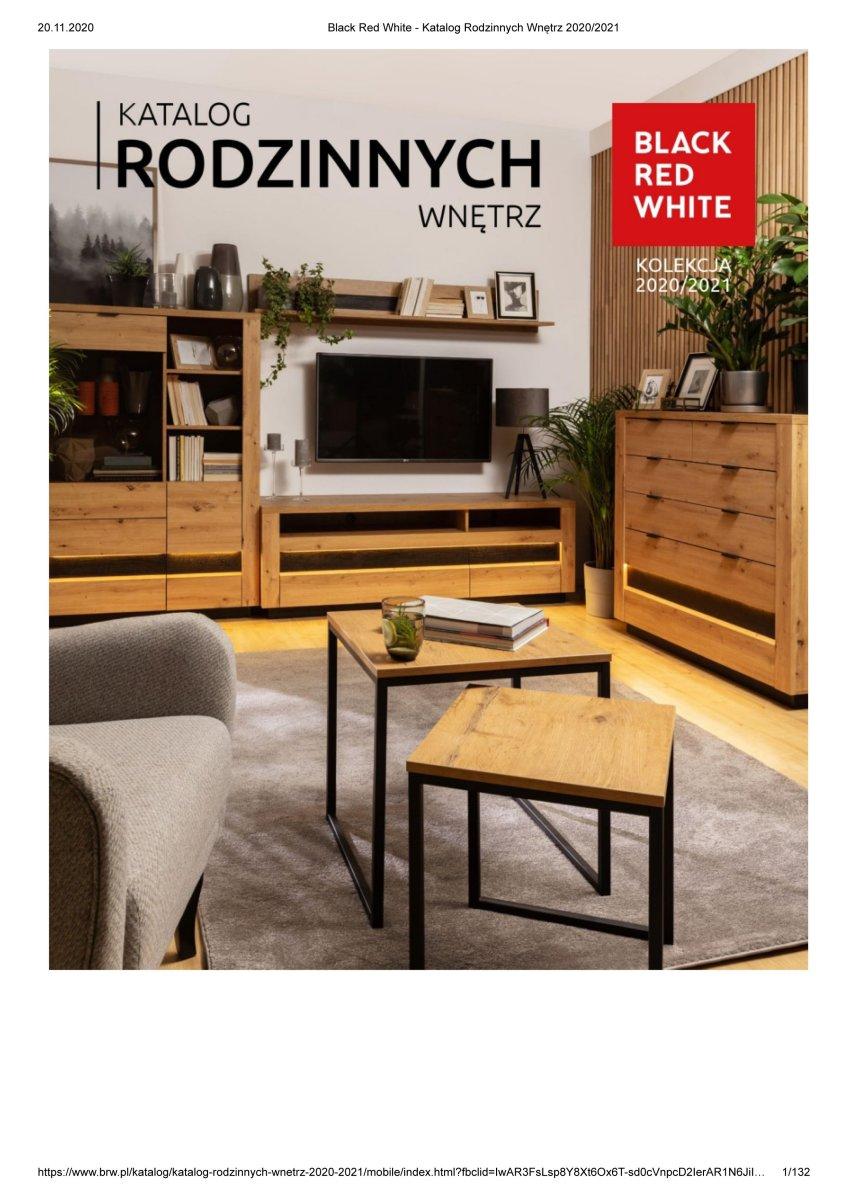 Gazetka Black Red White - Katalog Rodzinnych Wnętrz 2020/2021