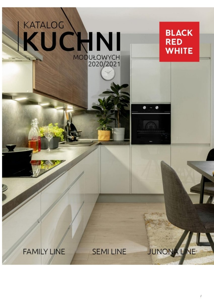 Gazetka Black Red White - Katalog Kuchni Modułowych