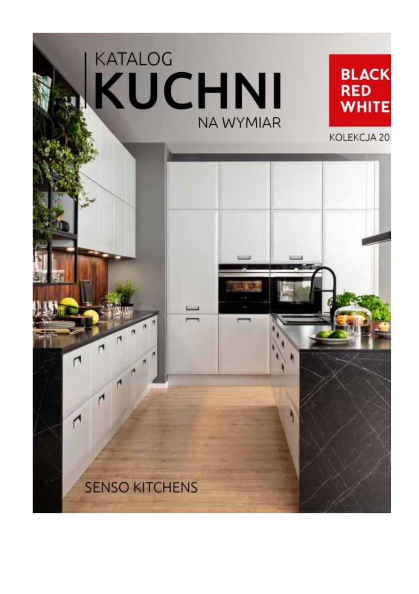 Gazetka Black Red White - Katalog Kuchni na Wymiar