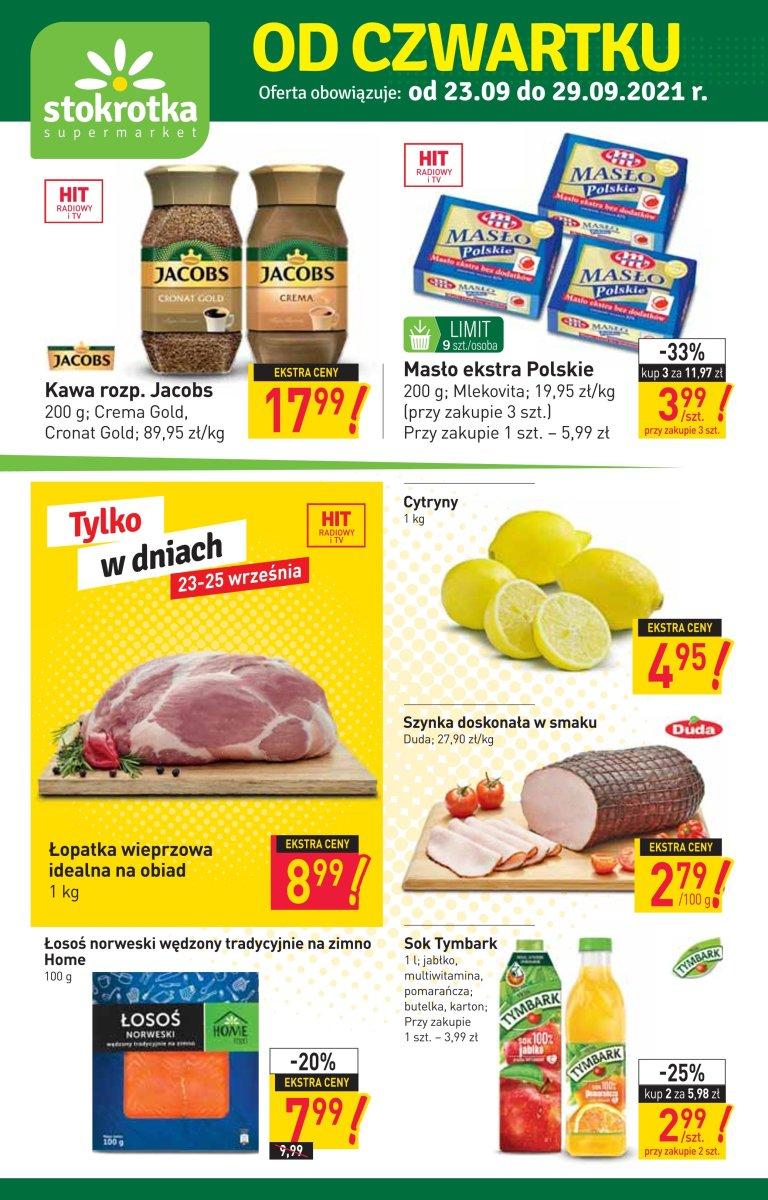 Gazetka Stokrotka - Gazetka Supermarket