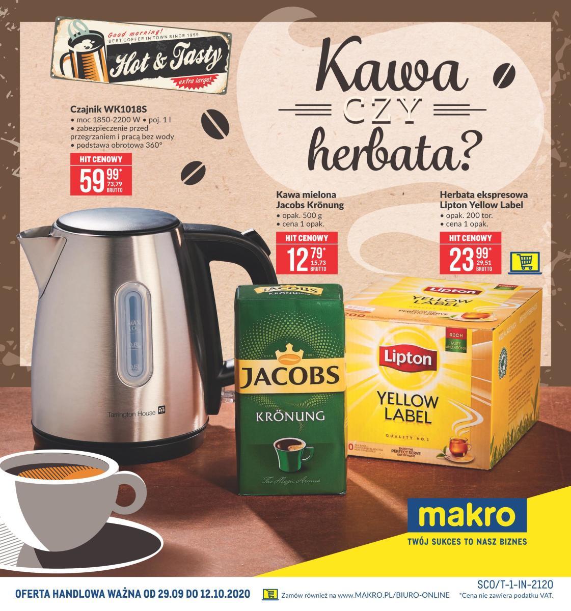 Gazetka Makro - Kawa czy herbata?