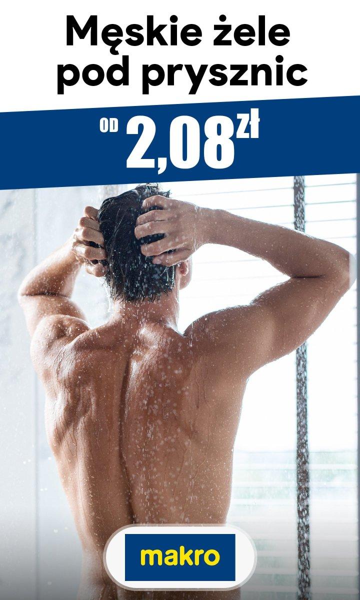 Gazetka Makro - Od 2,08 zł męskie żele pod prysznic