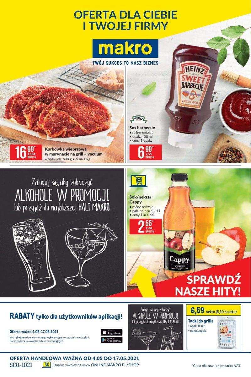 Gazetka Makro - Artykuły spożywcze