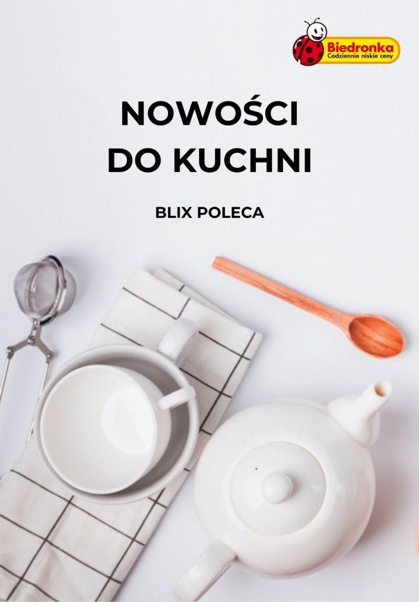 Gazetka Biedronka - Nowości do kuchni