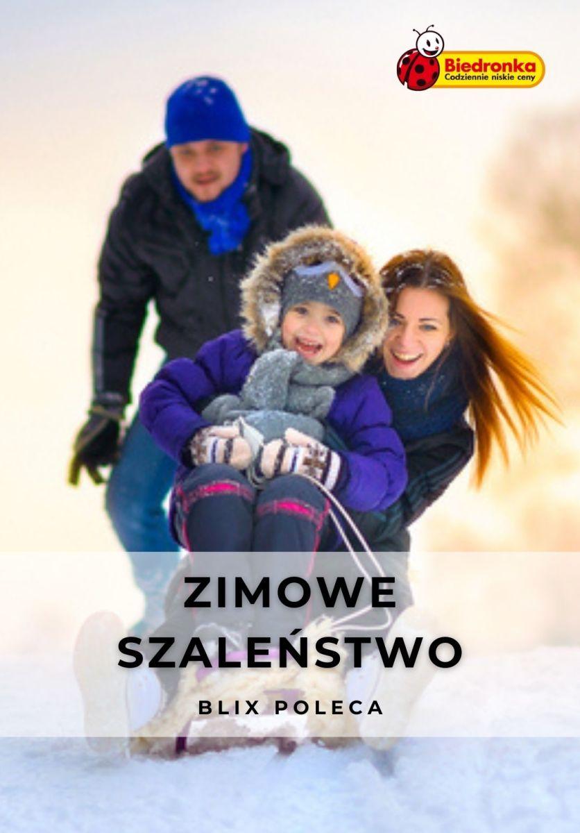 Gazetka Biedronka - Zimowe szaleństwo