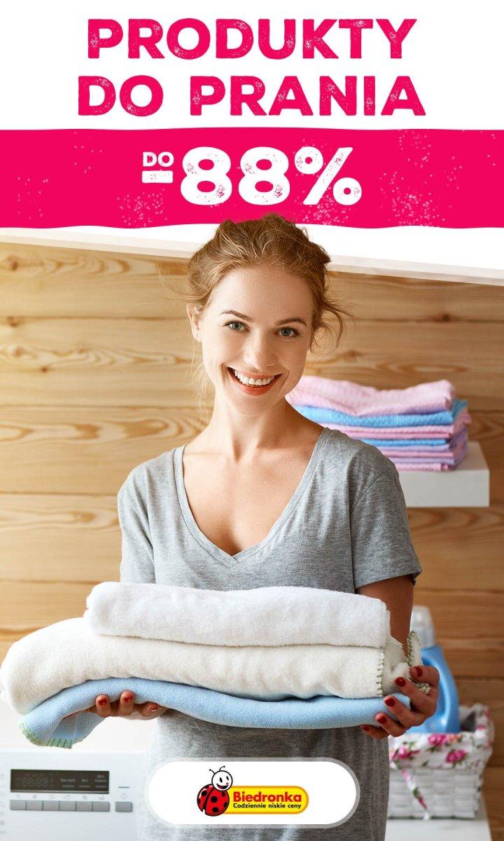 Gazetka Biedronka - Do -88% produkty do prania
