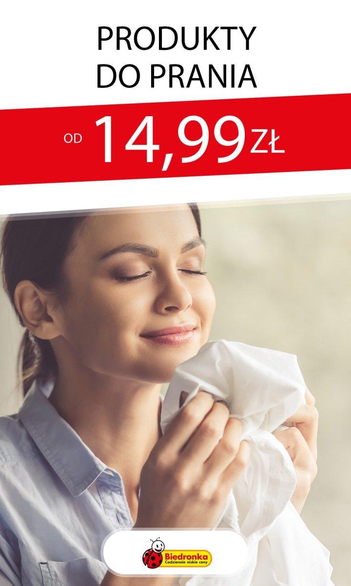 Gazetka Biedronka - Od 14,99 zł produkty do prania