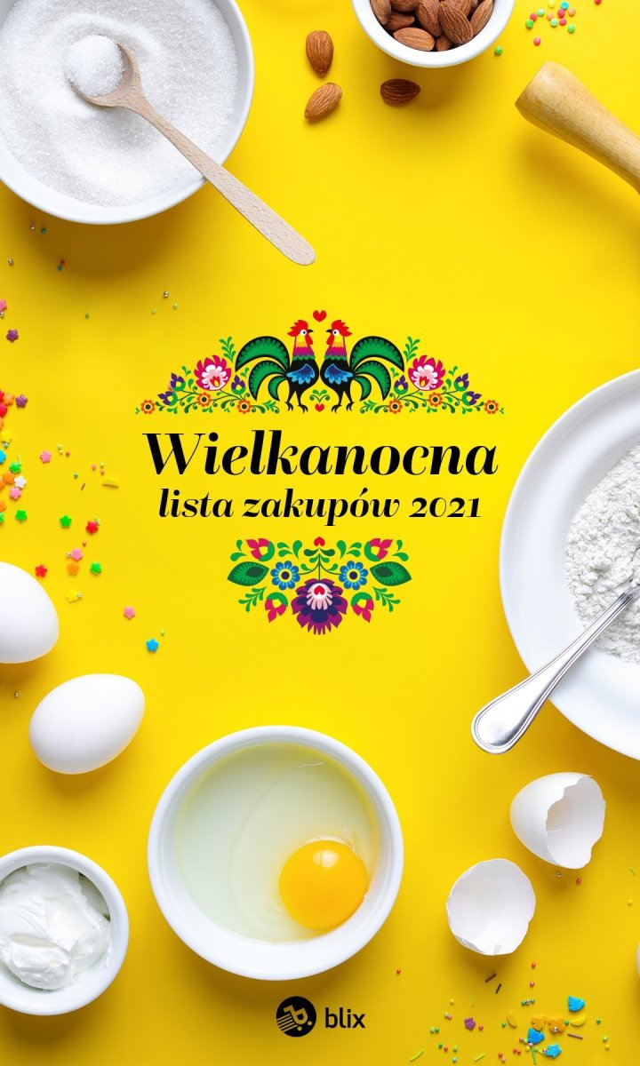 Gazetka Biedronka - Wielkanocna lista zakupów