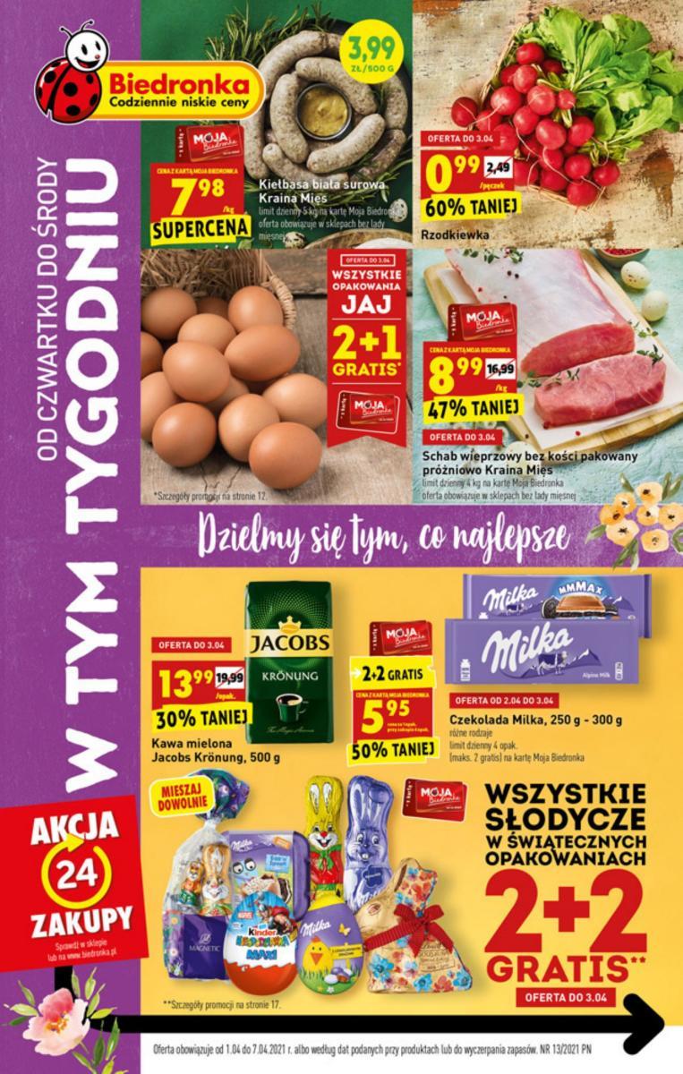 Gazetka Biedronka - W tym tygodniu: od czwartku