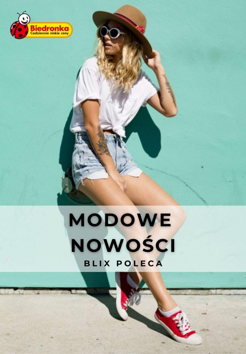 Gazetka Biedronka - Modowe nowości