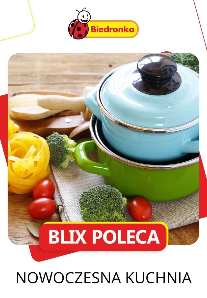 Gazetka Biedronka - Nowoczesna kuchnia