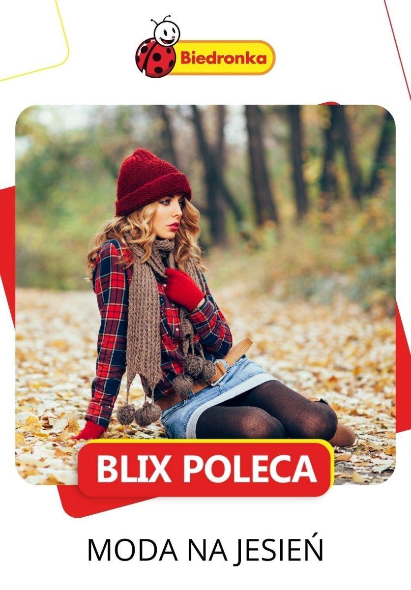 Gazetka Biedronka - Moda na jesień