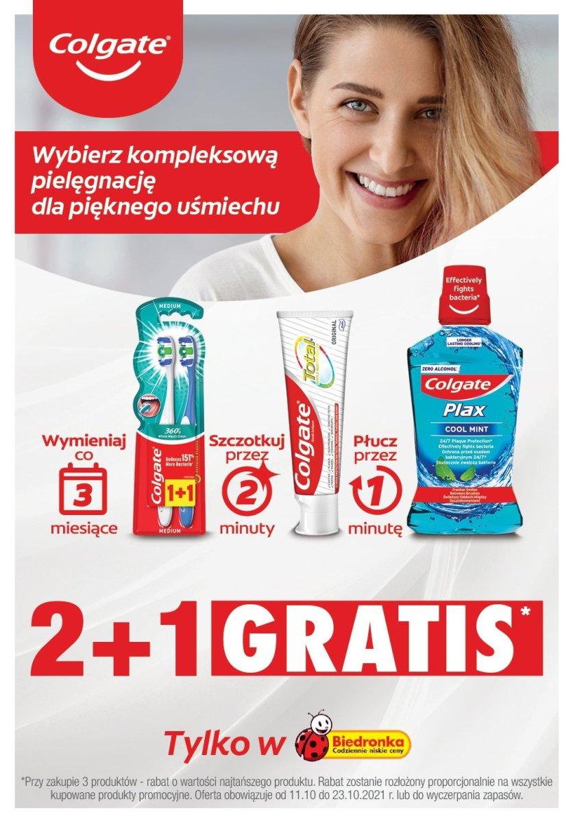 Gazetka Biedronka - Colgate 2+1 gratis