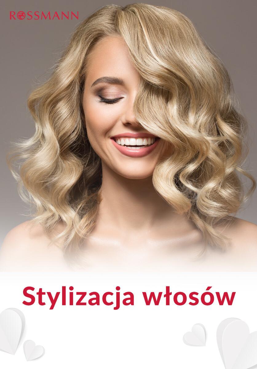 Gazetka Rossmann - Stylizacja włosów