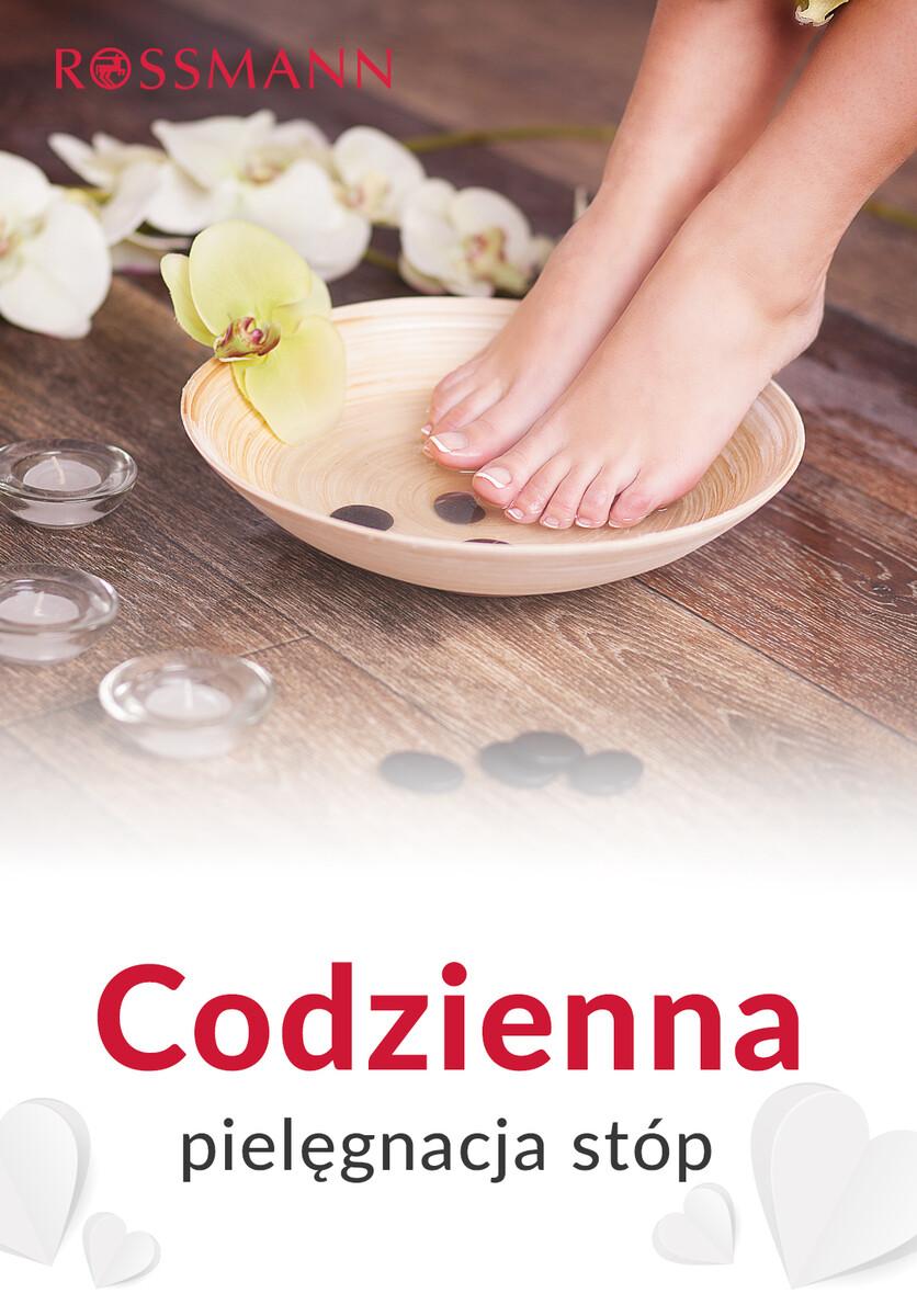 Gazetka Rossmann - Codzienna pielęgnacja stóp