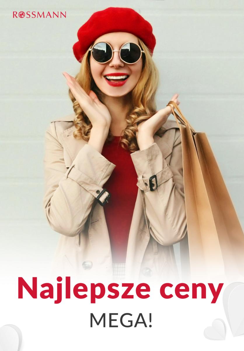 Gazetka Rossmann - Najlepsze ceny Mega!