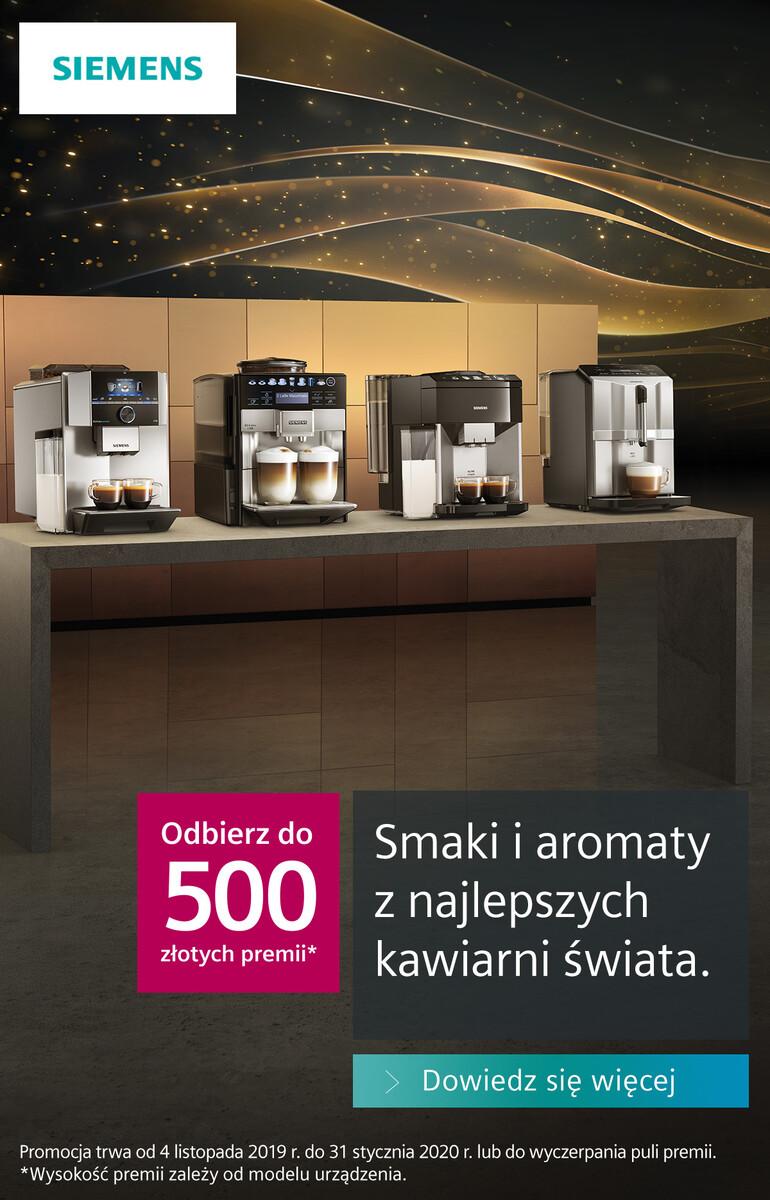 Gazetka Max Elektro - Kup ekspres marki Siemens i odbierz premię!