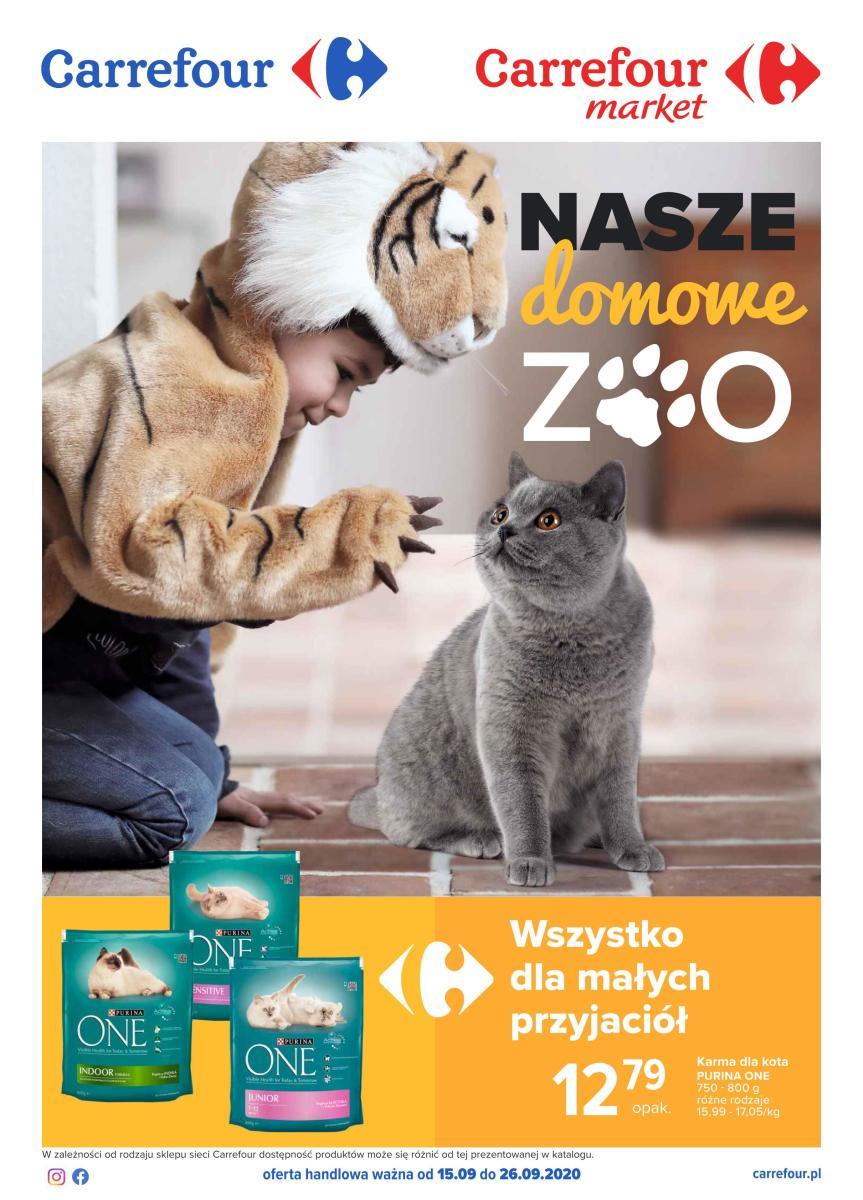 Gazetka Carrefour Market - Nasze domowe zoo