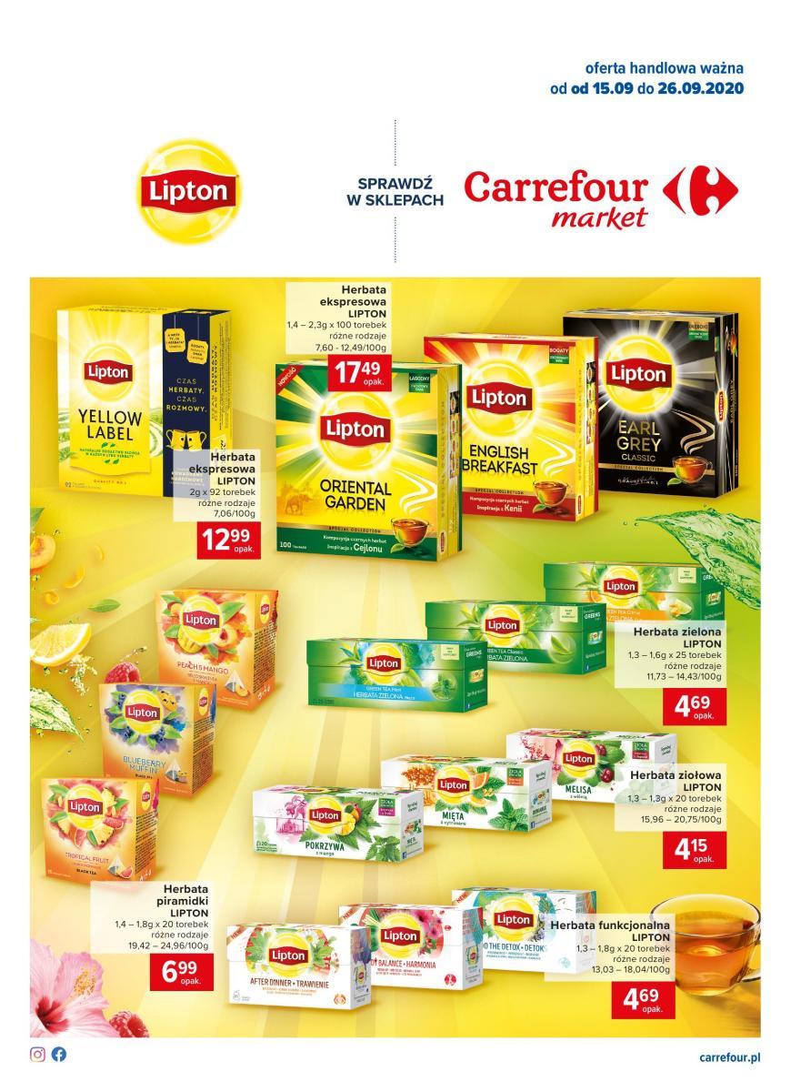 Gazetka Carrefour Market - Na chłodne wieczory