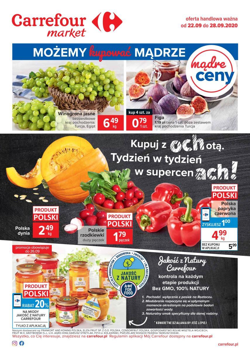 Gazetka Carrefour Market - Kupuj z ochotą!