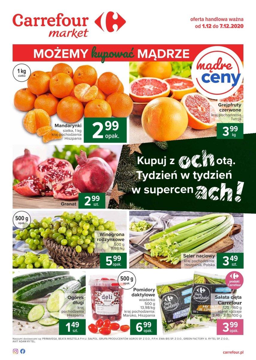 Gazetka Carrefour Market - Możemy kupować mądrze