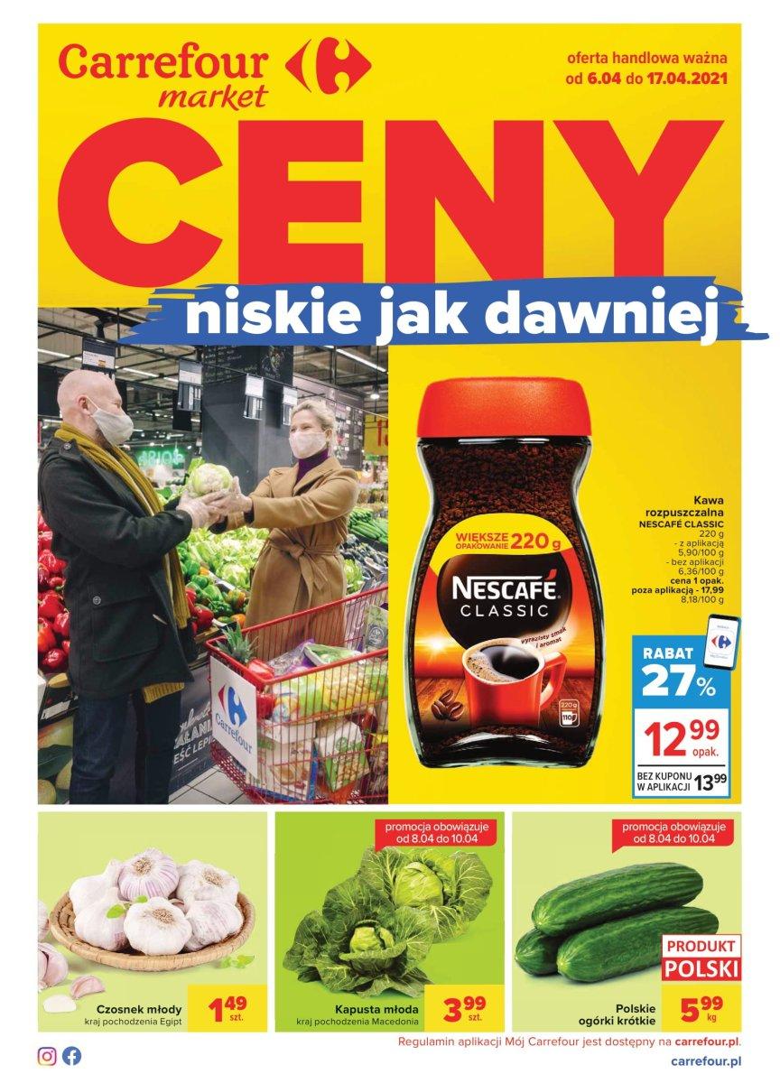 Gazetka Carrefour Market - Ceny niskie jak dawniej