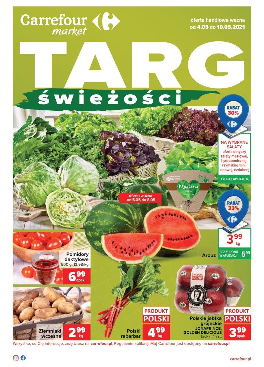 Gazetka Carrefour Market - Targ Świeżości