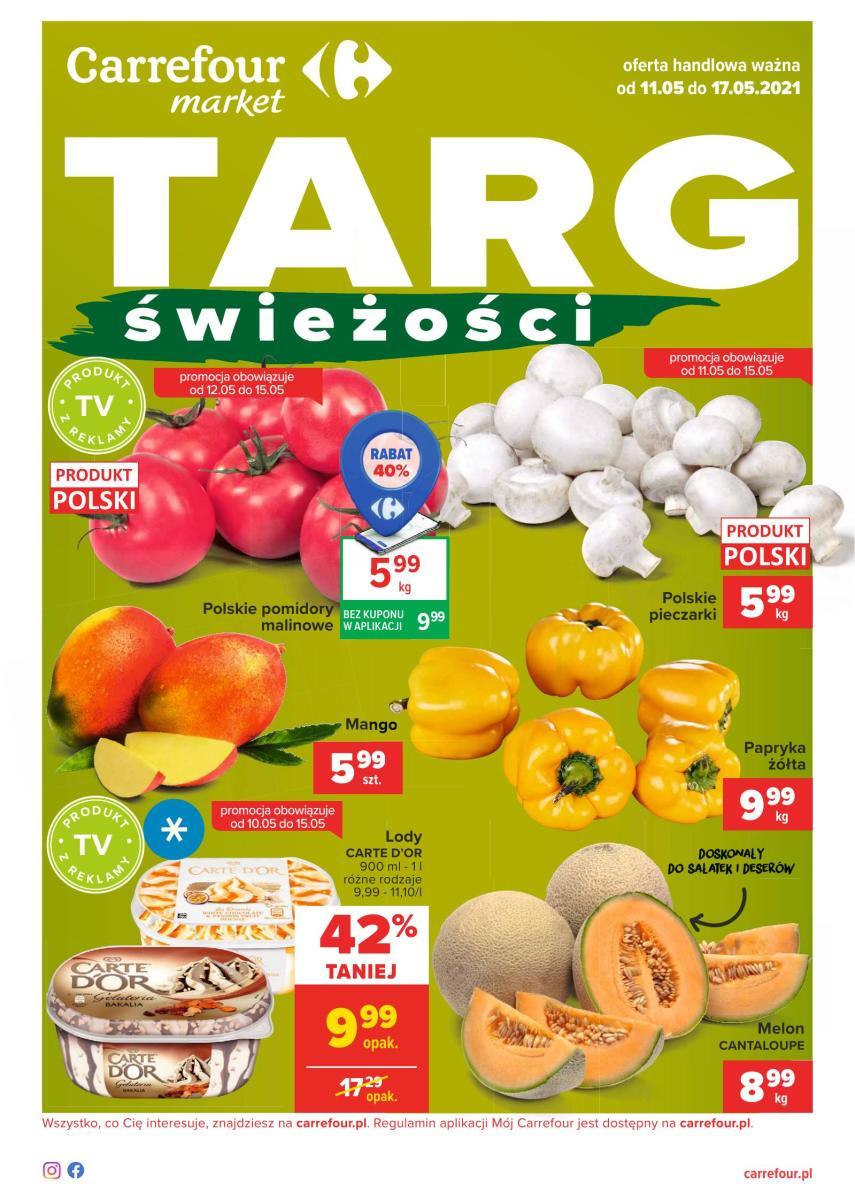 Gazetka Carrefour Market - Targ świeżości  Market