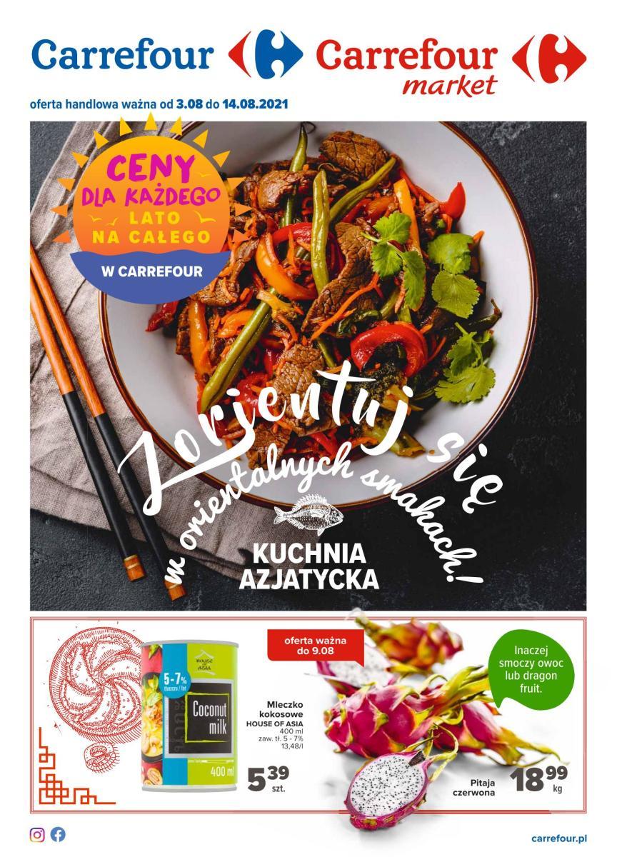 Gazetka Carrefour Market - Kuchnia azjatycka Market