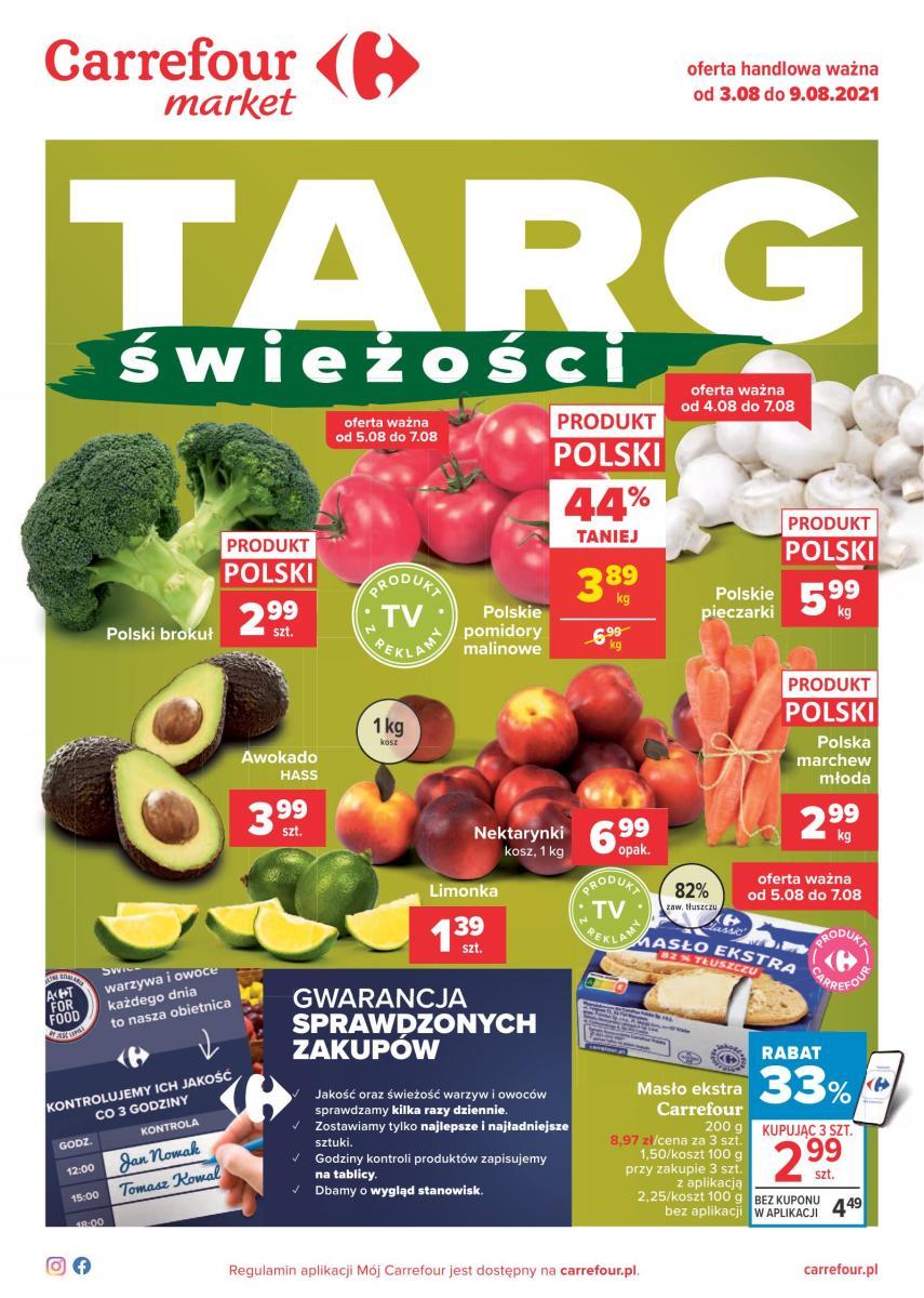 Gazetka Carrefour Market - Targi świeżości  Market