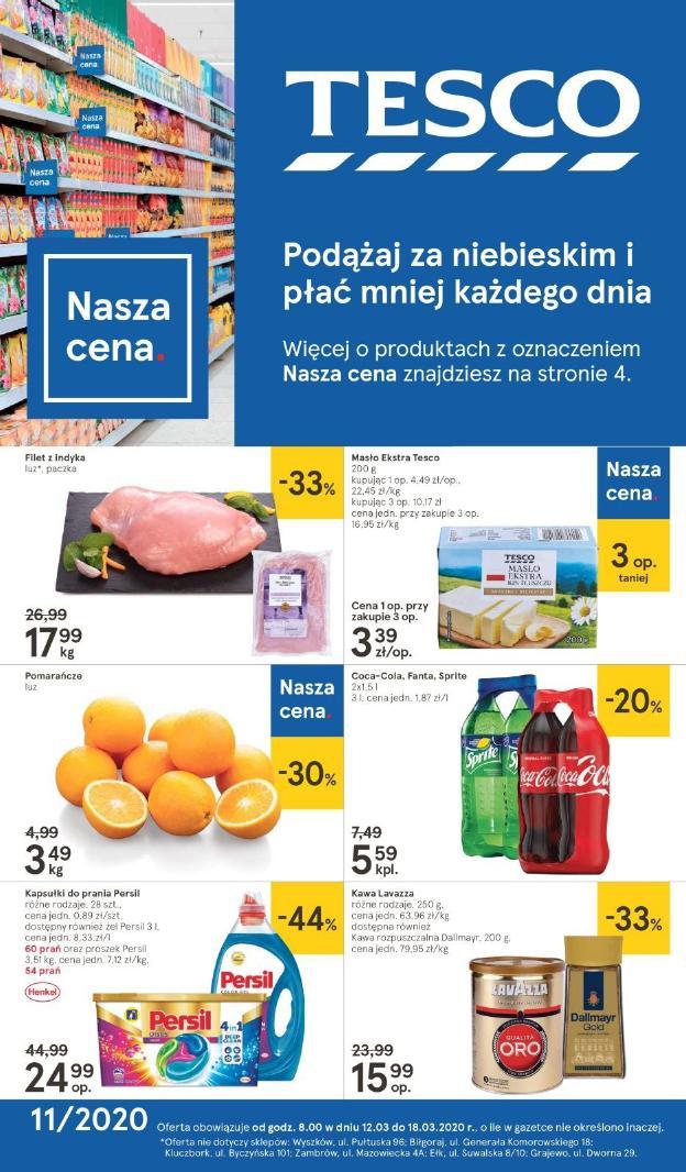 Gazetka Tesco - Gazetka - hipermarket