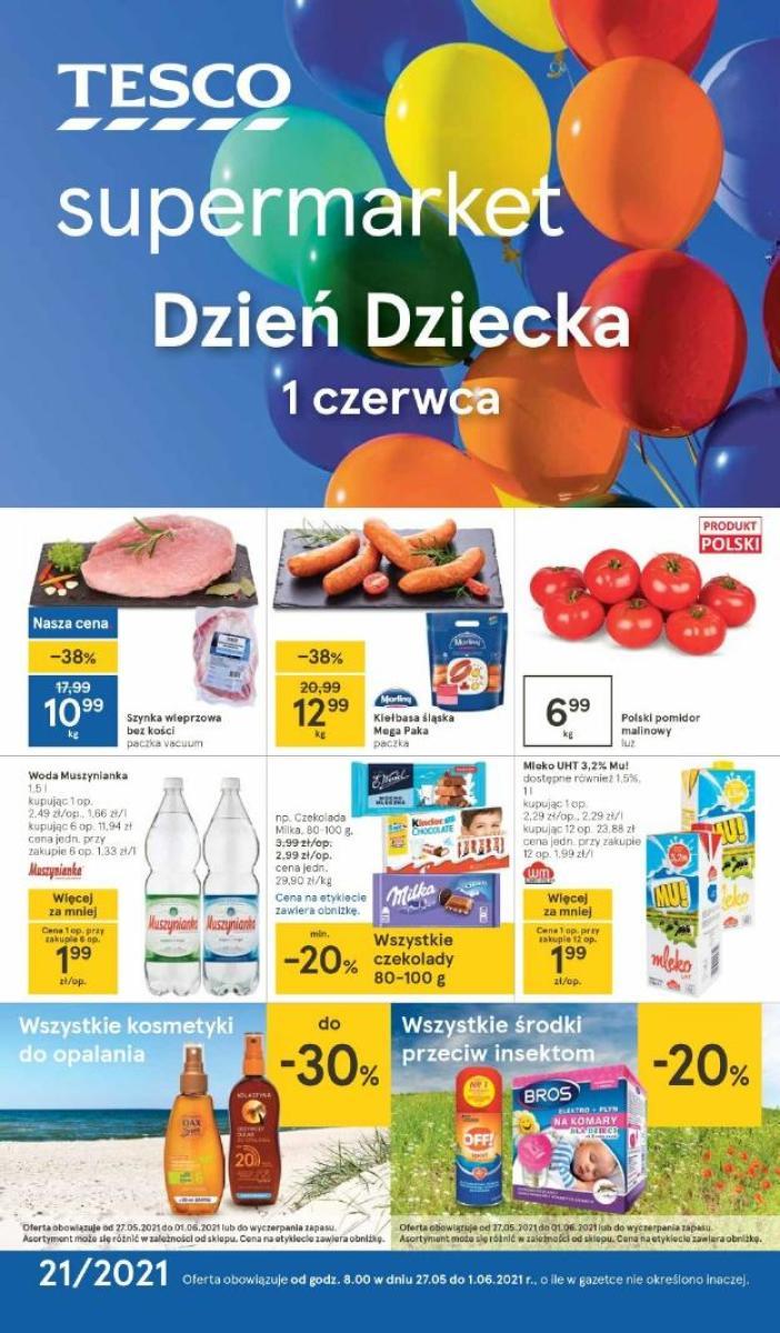 Gazetka Tesco - Gazetka Supermarket